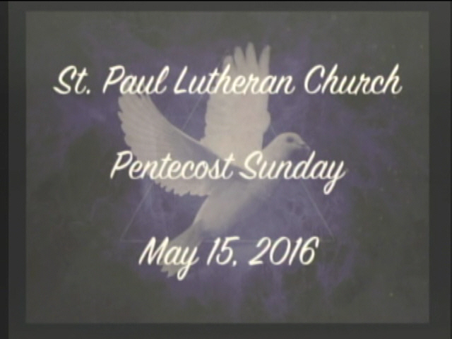 """The Day of Pentecost"""